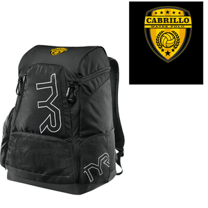 Cabrillo High School Water Polo 2019 Custom TYR Alliance Backpack 45L - Personalized *CLOSE DATE 11/13*