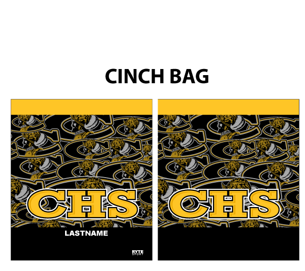 Junior Varsity Cabrillo High School Custom Cinch Bag