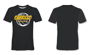 Cabrillo High School Water Polo 2019 Custom Black Men's T-Shirt - Personalized