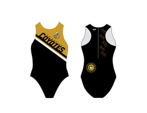 Calabasas High School Water Polo 2020 Custom Women's Water Polo Suit