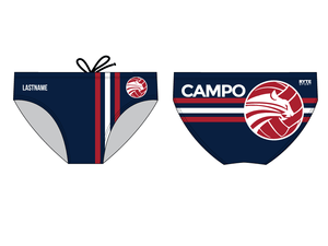 Campolindo High School 2019 Custom Men's Water Polo Brief - Personalized