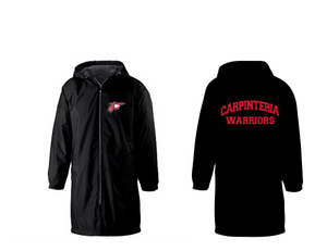 Carpinteria High School Water Polo/Swim 2020 Custom Black Team Parka - Personalized *CLOSE DATE TO PURCHASE IS 12/6*