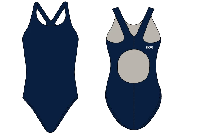 Catoctin High School Swim & Dive 2019 Custom Thick Strap Women's Swimsuit