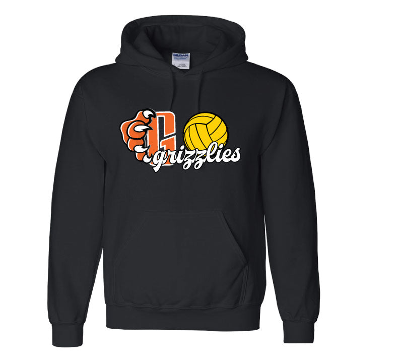 Central High School Girls Water Polo Pullover Hooded Sweatshirt
