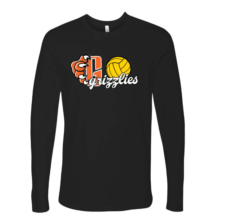 Central High School Girls Water Polo Long Sleeve T-Shirt