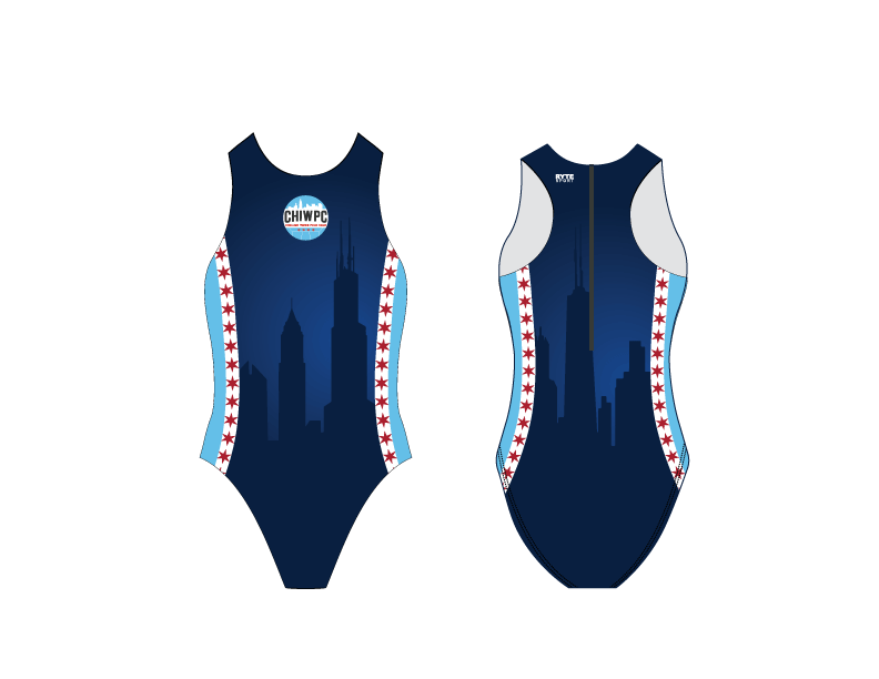 Chicago Water Polo Club 2019 Custom Women's Water Polo Suit