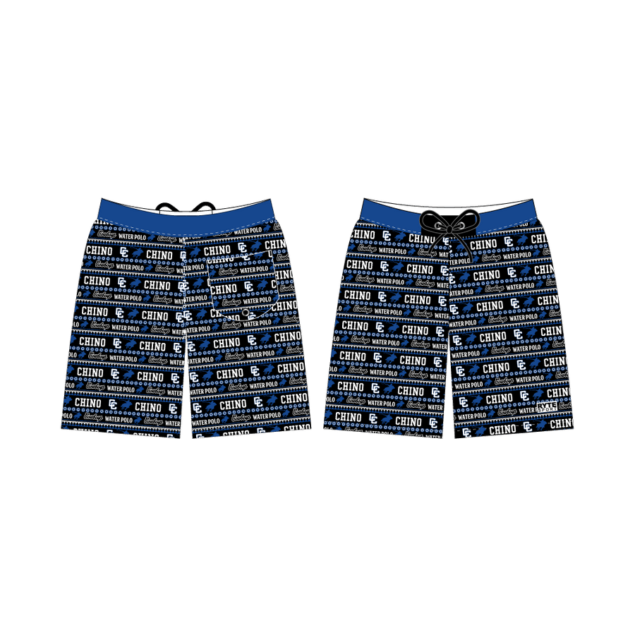 Chino High School Water Polo 2019 Custom Men's Boardshort