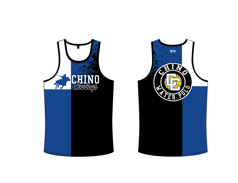 Chino High School Water Polo 2019 Custom Men's Tank Top