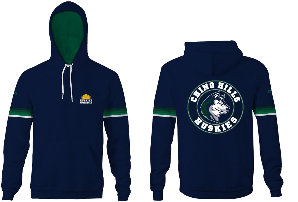 Chino Hills High School Water Polo 2019 Custom Heathered Navy Unisex Adult Hooded Sweatshirt - Personalized