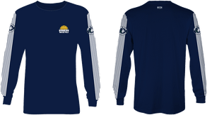 Chino Hills High School Water Polo 2019 Custom Long Sleeve T-Shirt - Personalized