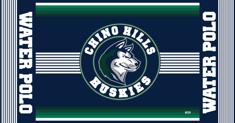 Chino Hills High School Water Polo 2019 Custom Towel - Personalized