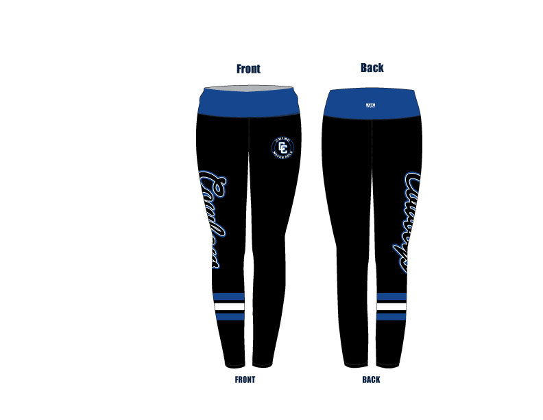 Chino High School Water Polo 2019 Custom Mid-Rise Full Length Leggings