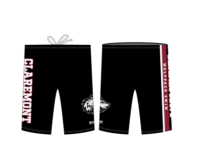 Claremont Swim Team 2019 Custom Men's Jammer