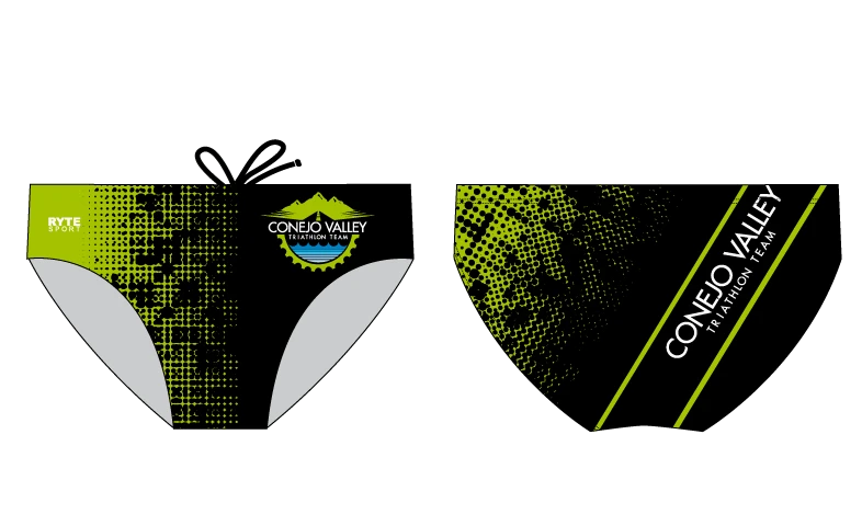 Conejo Valley Triathlon Team Custom Swim Brief