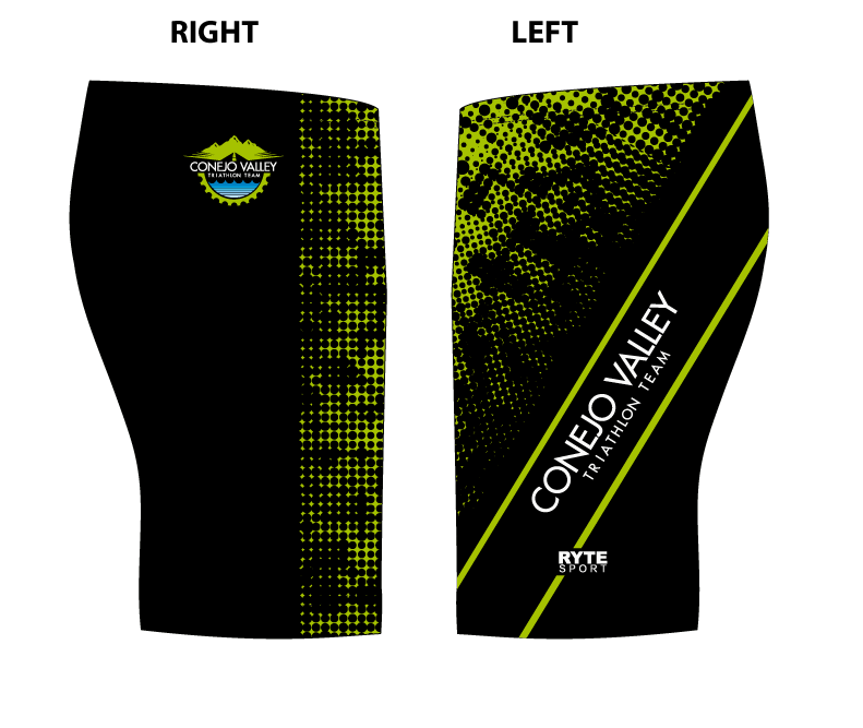 Conejo Valley Triathlon Team Custom Men's Jammer