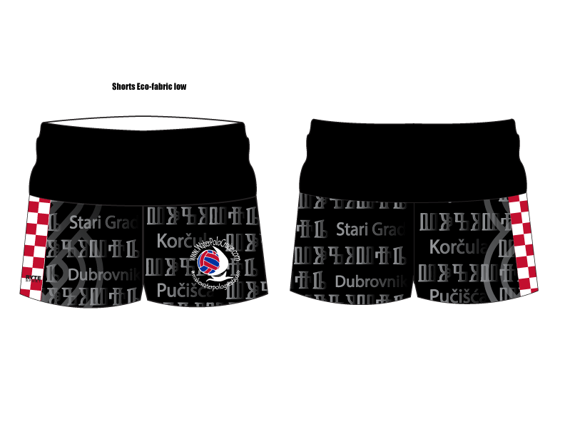 Water Polo Cruise Custom Yoga Short