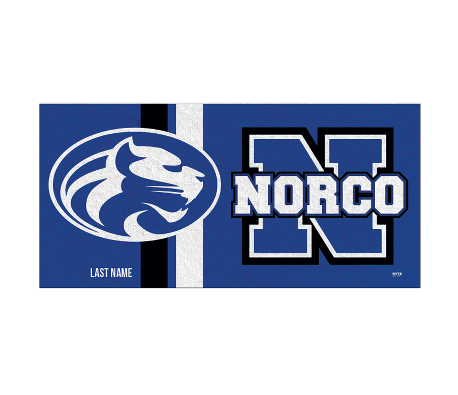 Norco High School Swim 2019 Custom Towel - Personalized
