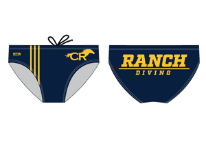 Cypress Ranch Dive 2019 Men's Swim Brief