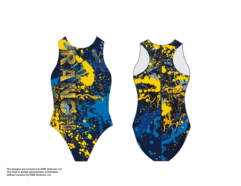 Cypress Ranch 2020 Women's Water Polo Suit
