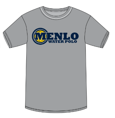 Menlo School Girls Water Polo Gray Heather Unisex T-Shirt