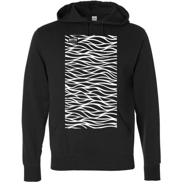 Water Ripple Adult Unisex Lightweight Hooded Sweatshirt