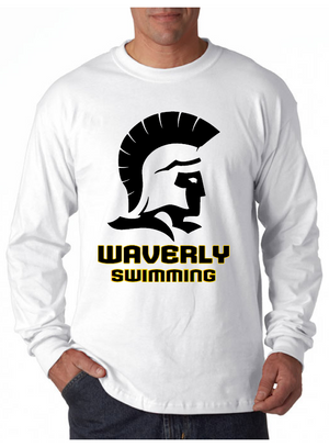 Waverly School Swim Team Unisex Longsleeve T-Shirt
