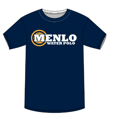 Menlo School Girls Water Polo Navy Unisex T-Shirt