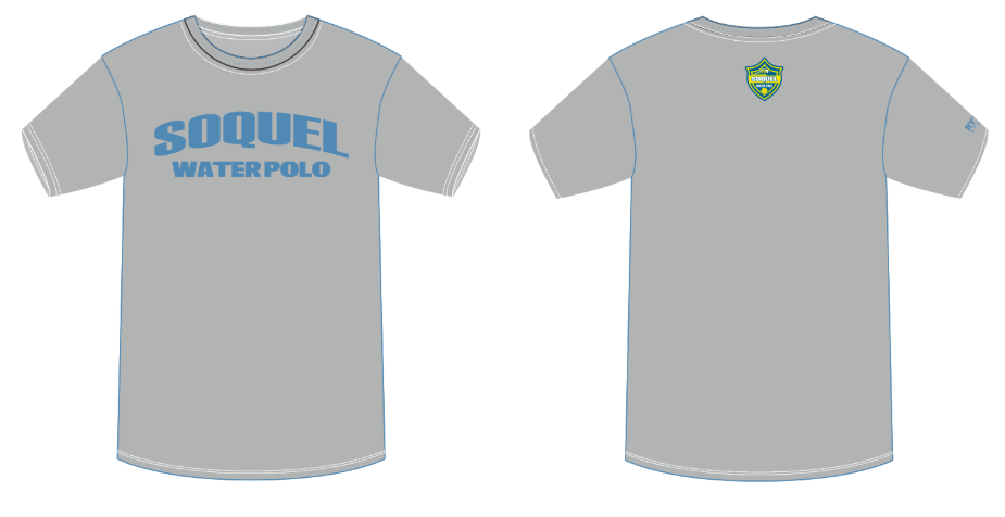 Soquel High School Water Polo Men's T-Shirt
