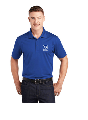 Davis High School Water Polo 2019 Custom Royal Men's Polo Shirt