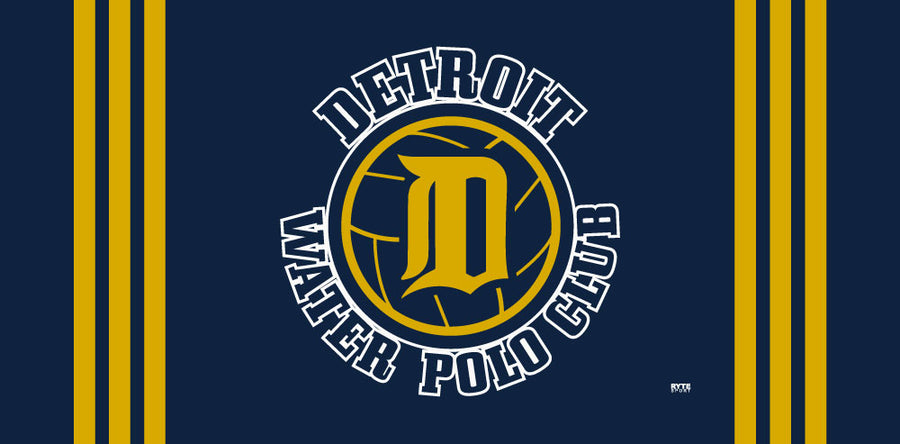 Detroit Water Polo Club Custom Towel - Personalized