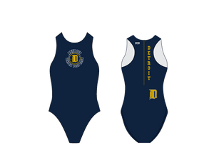 Detroit Water Polo Club Custom Women's Water Polo Suit - Personalized