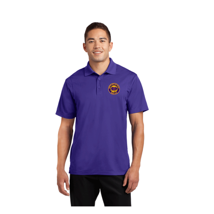 Diamond Bar High School Water Polo 2019 Custom Purple Polo Shirt *CLOSE DATE TO PURCHASE IS 7/31*