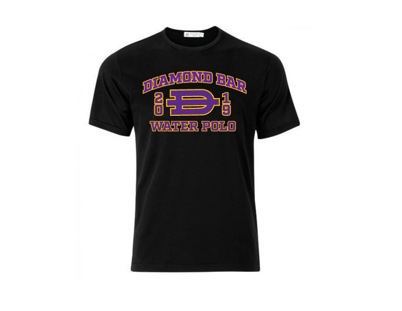 Diamond Bar High School Water Polo 2019 Custom Men's T-Shirt