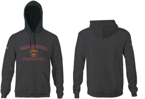 Diamond Bar High School Water Polo 2019 Custom Heathered Unisex Adult Hooded Sweatshirt
