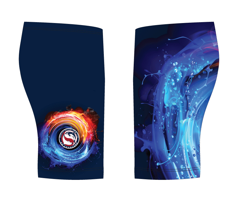Douglas Dolfins Swim Team 2019 Custom Men's Jammer