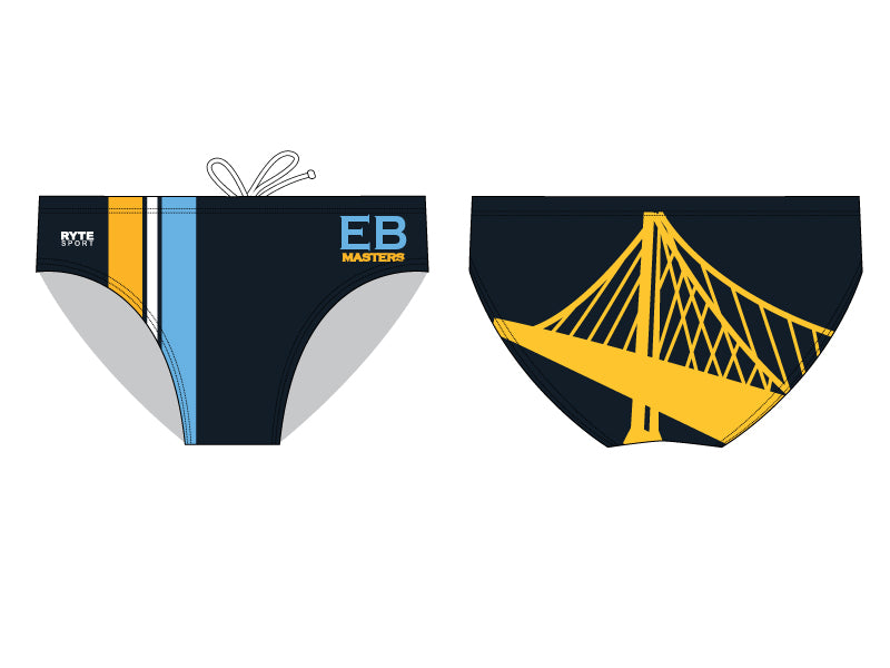 East Bay Masters Custom Men's Water Polo Suit