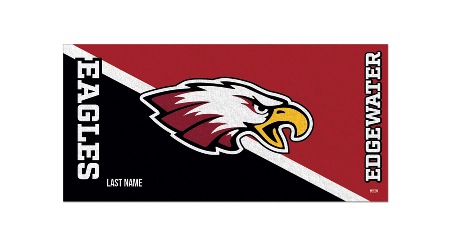 Edgewater High School Water Polo 2019 Custom Towel- Personalized