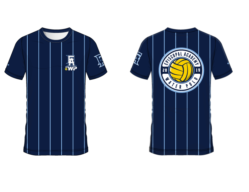 Episcopal Academy Water Polo 2019 Custom Men's T-Shirt