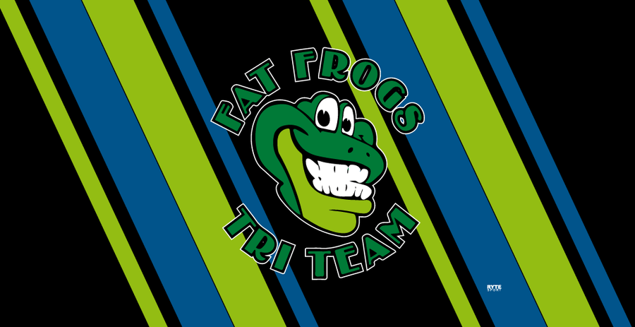 Fat Frogs Tri Team Custom Towel - Personalized