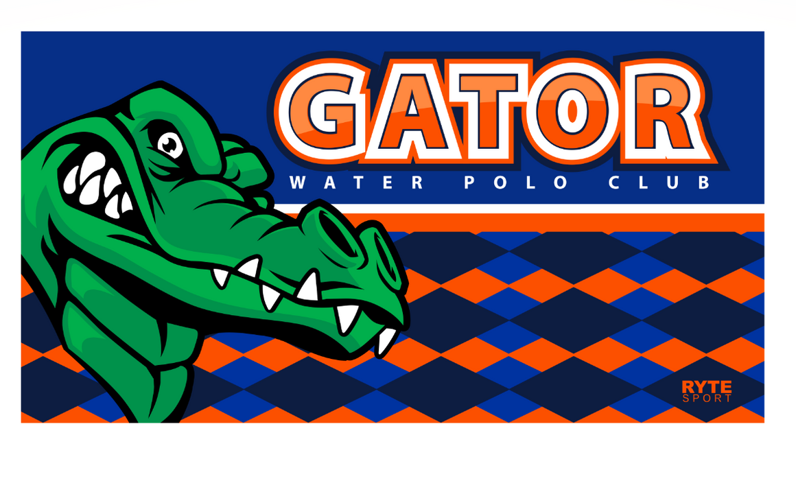 Gator Water Polo Club Custom Towel
