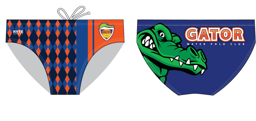 Gator Water Polo Club Custom Men's Water Polo Suit