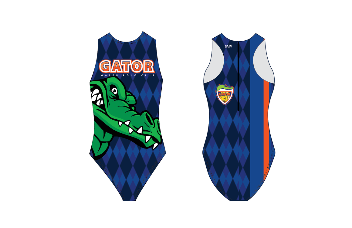 Gator Water Polo Club Custom Women's Water Polo Suit
