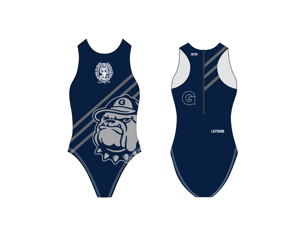 Georgetown University Women's Water Polo Suit - Personalized