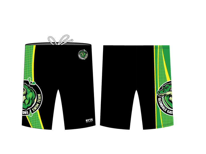 Glendale Gators Swim Team 2019 Custom Men's Jammer
