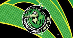Glendale Gators Swim Team 2019 Custom Towel - Personalized