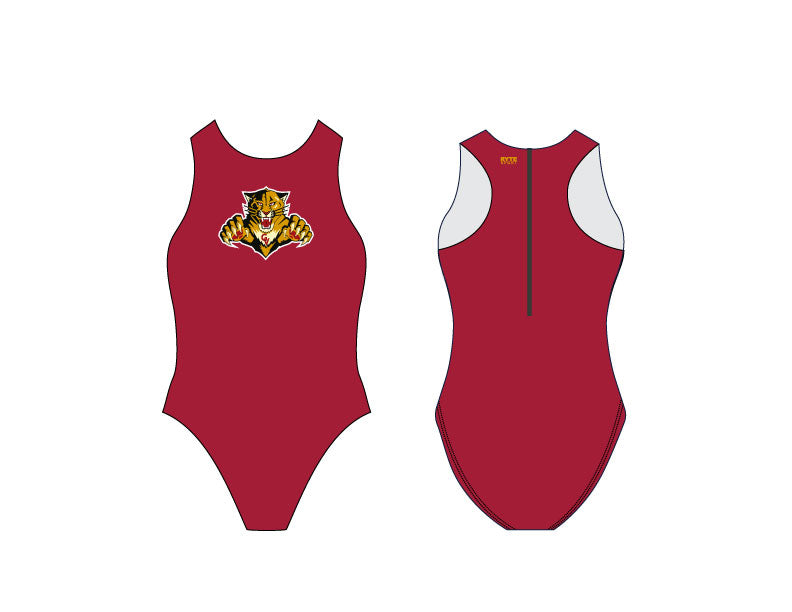 Golden Valley Girl's Water Polo Suit - Personalized