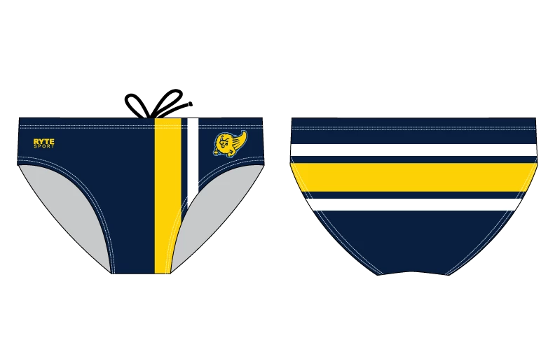 Grand Ledge High School Swim & Dive 2019 Custom Men's Swim Brief