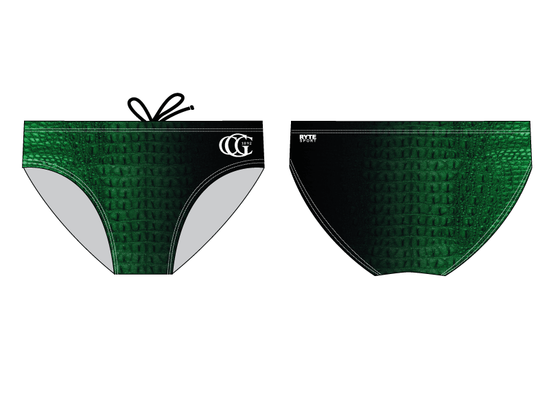 Greenwich Country Club Custom Men's Swim Brief - Personalized