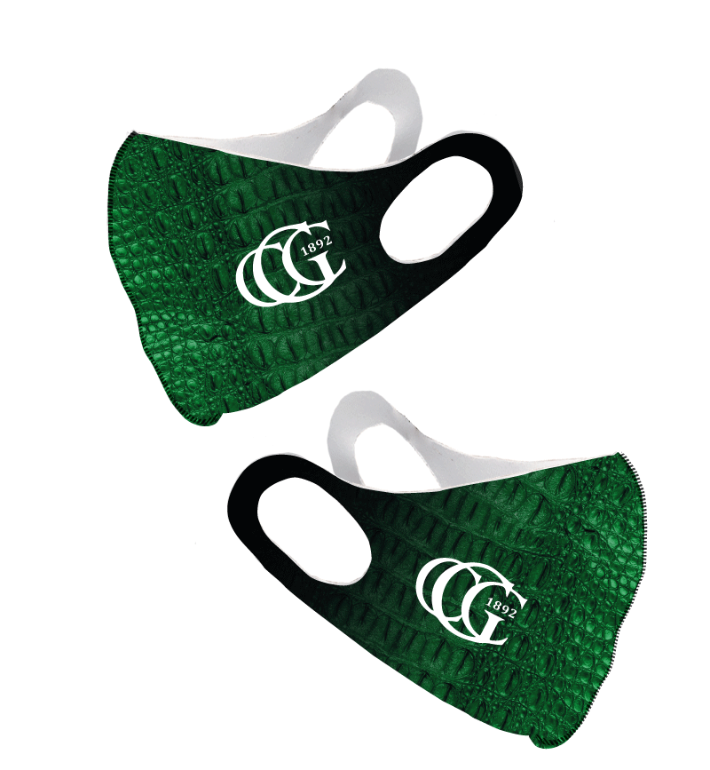 Greenwich Country Club Custom Olson Face Mask
