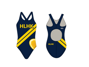 HLHK Swim Team 2019 Custom Thick Strap Women's Suit